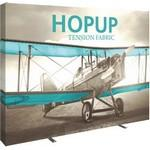 Hopup 10ft Straight Display & Tension Fabric Graphic Custom Printed