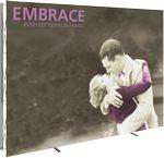 Embrace 10ft. Full Height Display With Front Graphic Custom Imprinted