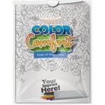 Custom Printed Combo Pack - Color Comfort & 6-Pack of Colored Pencils in a Poly Bag