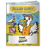 Coloring Book - Summer Safety with Sunny the Seagull Custom Printed
