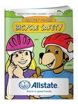 Custom Printed Coloring Book - Barkley Teaches Bicycle Safety