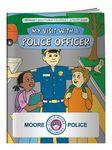 Custom Imprinted Coloring Book - My Visit With a Police Officer