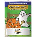 Logo Branded Coloring Book - Halloween Safety with Gilbert the Ghost