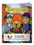 Coloring Book - Firefighters in Uniform Custom Imprinted
