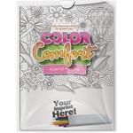 Combo Pack - Color Comfort & 6-Pack of Colored Pencils (Imprinted) in a Poly Bag Custom Printed