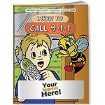Coloring Book - When to Call 9-1-1 Custom Printed