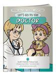 Coloring Book - Let's Go to the Doctor Custom Imprinted