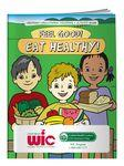 Logo Branded Coloring Book - Feel Good! Eat Healthy