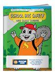 Logo Branded Coloring Book - School Bus Safety with Sammy Squirrel