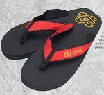 Sunrise Deluxe Sandals Logo Printed