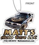 Logo Imprinted Air Fresheners Custom Die Cut