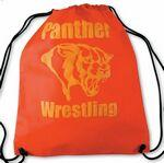 Logo Branded The Recruit - Non-Woven Drawstring Backpack - Screen Print