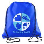 Logo Branded Sophomore Non Woven Drawstring Backpack