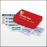 Custom Imprinted Express First Aid Kit W/ Non Aspirin Pain Reliever