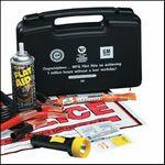 Auto Emergency Kit w/ Pocket First Aid Kit Logo Imprinted