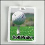 Custom Personalized Rectangle Golf Tag W/ Digital Process Imprint