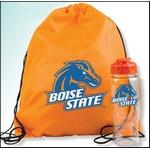 Custom Printed Drawstring Backpack and Bottle