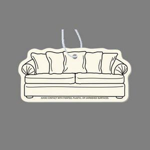 Paper Air Freshener Tag - Sofa/Couch