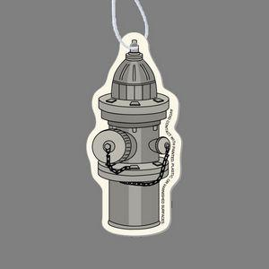 Paper Air Freshener Tag - Fire Hydrant