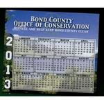 Custom Imprinted Calendar Magnet - 13.1-15 Sq. In. (30 MM Thick)
