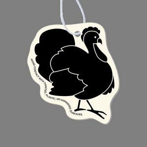 Paper Air Freshener - Strutting Turkey Tag W/ Tab