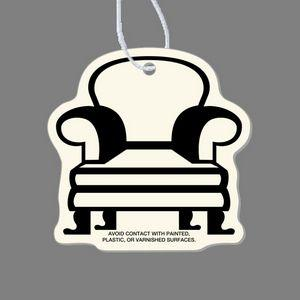 Paper Air Freshener Tag - Wingback Chair