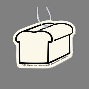 Paper Air Freshener Tag - Bread Loaf (Plain)