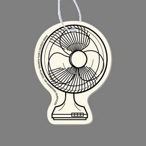 Paper Air Freshener - Oscillating Floor Fan Tag