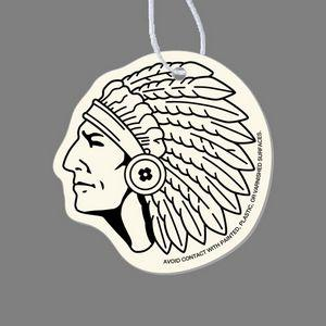 Paper Air Freshener Tag - Indian Chief