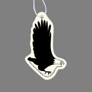 Paper Air Freshener Tag W/ Tab - Flying Eagle