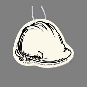 Paper Air Freshener Tag - Hard Hat