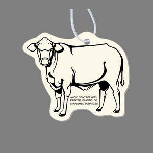 Paper Air Freshener - Steer Tag W/ Tab (Left Side)