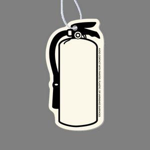 Paper Air Freshener Tag - Fire Extinguisher