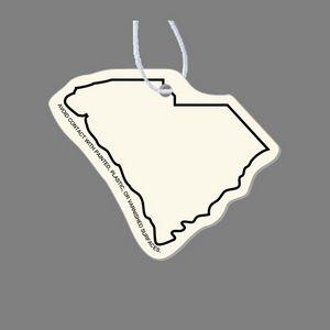 Paper Air Freshener - South Carolina (Outline)