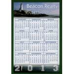 Calendar Magnet - 23.1-25 Sq. In. (30 MM Thick) Custom Imprinted