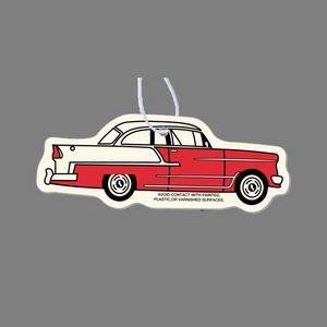 Paper Air Freshener - Colorized 1950's Chevy Car