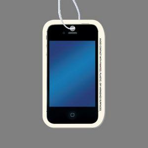 Paper Air Freshener - Full Color Cell Phone