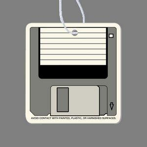 Paper Air Freshener Tag - Computer Disk