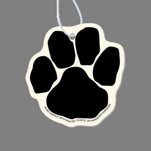 Paper Air Freshener - Animal Paw Print Tag