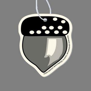 Paper Air Freshener Tag - Acorn (Shaded)
