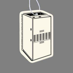 Paper Air Freshener Tag - Furnace (3/4 View, Right)