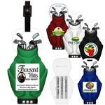 Custom Personalized Stock Shape Golf Bag Luggage Bag Tag