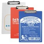 Letter Size Clipboard w/ Metal Spring Clip Branded