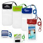 "All Purpose Waterproof Cell Phone and Accessories Carrying Case with 35"" Adjustable Breakaway Lanyar"