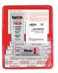 8 Piece Sun Relief First Aid Kit Logo Printed
