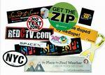 "Stik-Withit® Bumper Sticker (4""x6"") Logo Imprinted"
