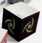 "Logo Branded Stik-Withit® Full Size Note Cube (3 3/8""x3 3/8""x3 3/8"")"