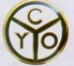 Logo Printed Cyo Clubs & Fraternities Lapel Pin