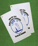 Jewel Collection Golf Towel w/ Corner Grommet (Screen Print) Logo Printed