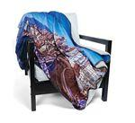 Custom Imprinted FOTO Vision Challenger Lambswool Throw